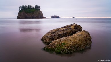 Second Beach, Olympic NP, U.S.A.
