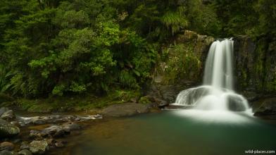 Waiau Falls, 309 Road, Coromandel Peninsula, North Island, New Zealand
