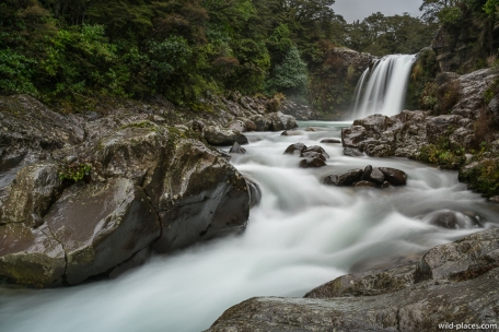 Tawhai Falls, Tongariro National Park, North Island, New Zealand