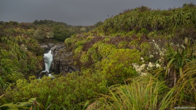 Mahuia Rapids, Tongariro National Park, North Island, New Zealand
