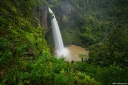 Bridal Veil Falls, Waireinga, Raglan, North Island, New Zealand