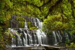 Purakaunui Falls, South Island, New Zealand