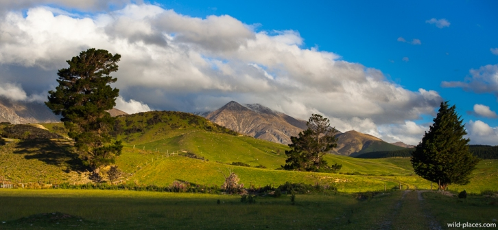 Southern Scenic Route, South Island, New Zealand