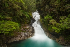Christie Falls, Fjordland NP, South Island, New Zealand