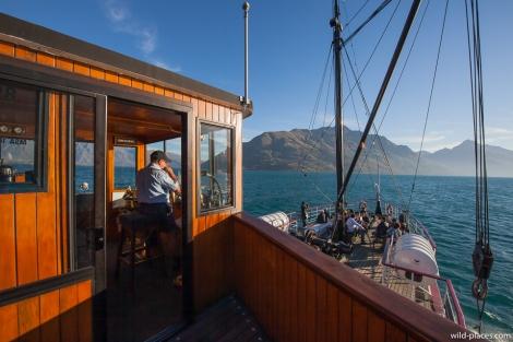 TSS Earnslaw, Lake Wakatipu, South Island, New Zealand