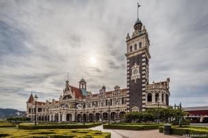 Dunedin Railway Station, South Island, New Zealand