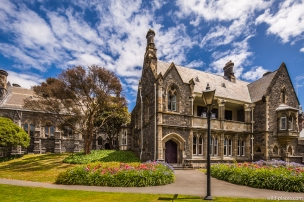 Canterbury Provincial Buildings, Christchurch, South Island, New Zealand
