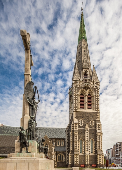 ChristChurch Cathedral, Christchurch, South Island, New Zealand