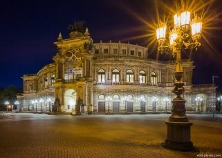 Semperopera, Dresden, Germany
