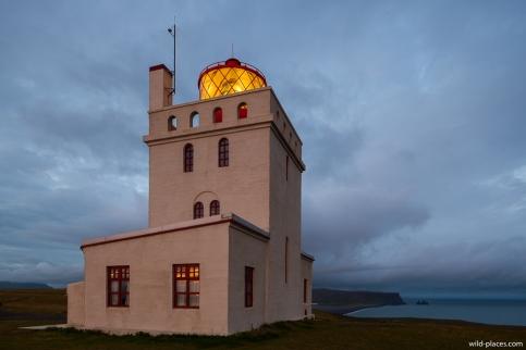 Lighthouse at Cape Dyrhólaey