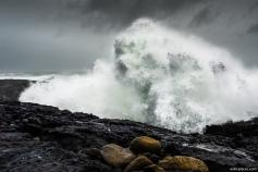 Storm at the Reykjanes Coast