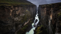 Hafrahvammagljúfur Canyon