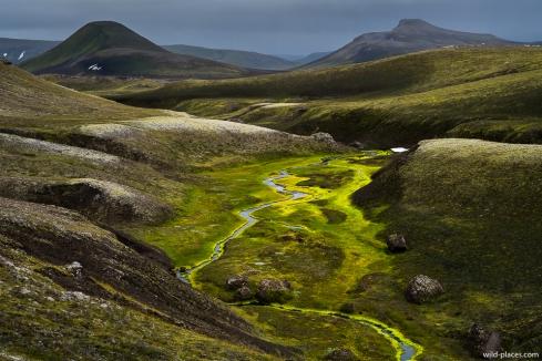 Stream near Rauðufossar