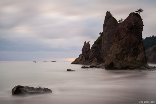 Rialto Beach, Olympic NP, WA, USA