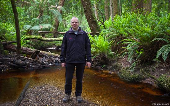 Me in Tasmania