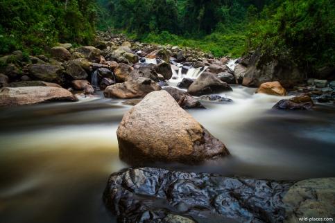 Mubuku River near Nyabitaba Hut, Rwenzori, Uganda