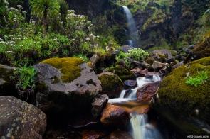 Kawamba Waterfall, Mubuku River Valley, Rwenzori, Uganda