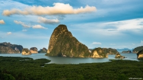 Phang Nga Bay from the Samet Nangshe Viewpoint