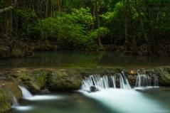 Huay Mae Khamin Waterfall, Si Nakharin NP