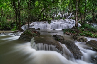 Pha Tad Waterfall, Khuean Srinagarinda National Park