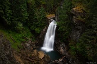 Lady Falls, Strathcona Provincial Park, Vancouver Island, BC, Canada