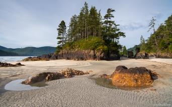 St Josef Bay, Cape Scott Provincial Park, Vancouver Island, BC, Canada