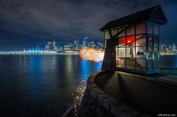9 O'Clock Gun, Vancouver, BC, Canada