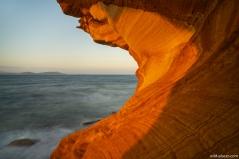 Painted Cliffs, Maria Island