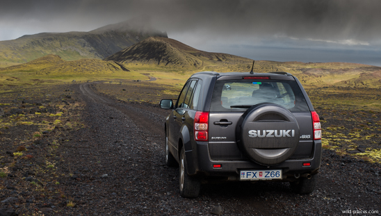 Rental Car in Snæfellsnes