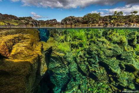 Silfra Rift, Þingvellir National Park, Iceland