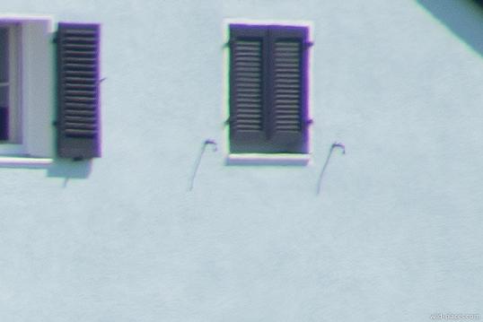 300mm, TC20, f/8, corner