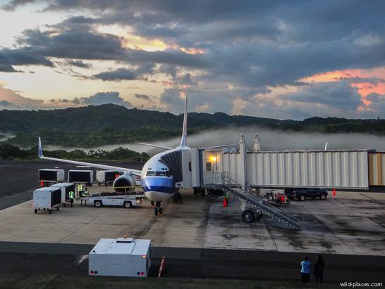 Koror Airport, Palau
