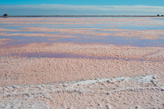 Salt fields, Walvis Bay