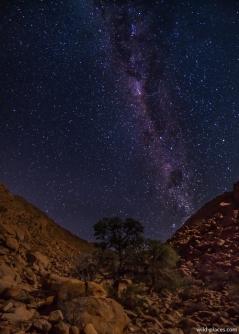 Milky Way at Koiimasis Ranch, Tiras Mountains, Namibia
