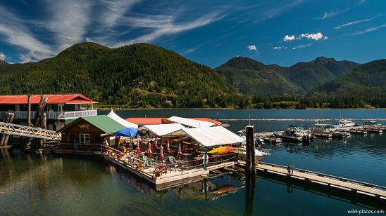 Tahsis, Vancouver Island, BC, Canada