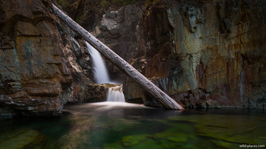 Lower Myra Falls, Strathcona Provincial Park, Vancouver Island, BC, Canada