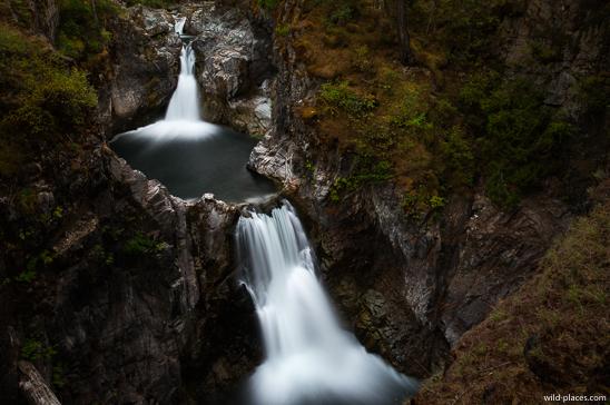 Little Qualicum Falls, Little Qualicum Falls Provincial Park, Vancouver Island, BC, Canada