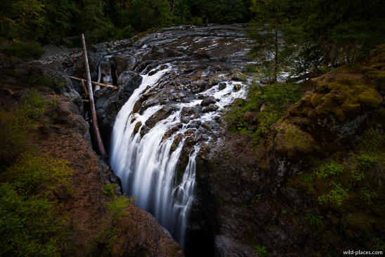 Englishman Falls, Englishman Falls Provincial Park, Vancouver Island, BC, Canada