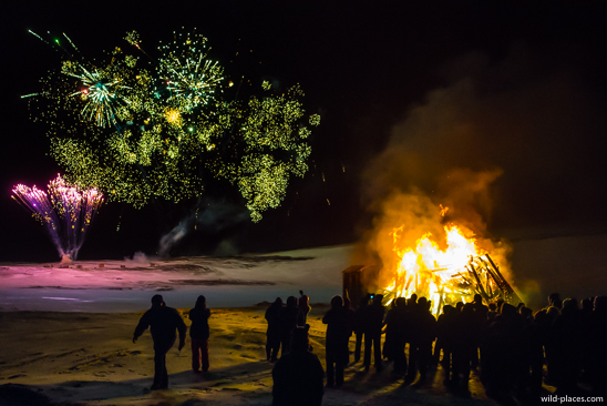 New Years Eve at the Mývatn