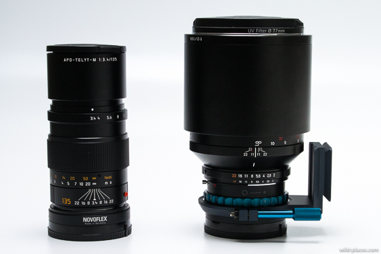 135mm lenses